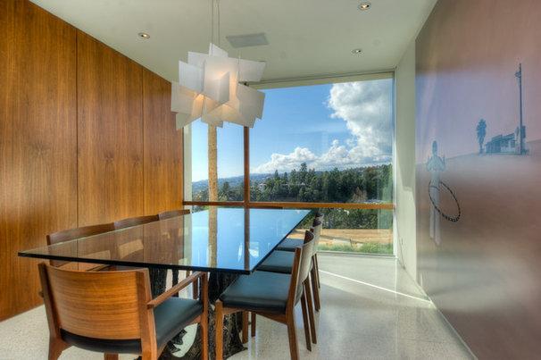 Modern Dining Room by Bertram Architects
