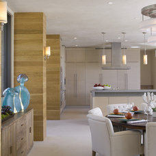 Contemporary Dining Room by Lori Dennis, ASID, LEED AP