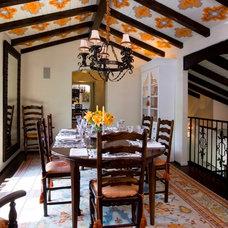 Mediterranean Dining Room by Lori Dennis, ASID, LEED AP