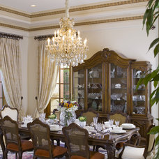 Traditional Dining Room by Lori Dennis, ASID, LEED AP