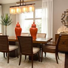 Tropical Dining Room by Kevin Twitty- IBB Designer