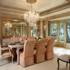 Traditional Dining Room by Culbertson Durst Interiors