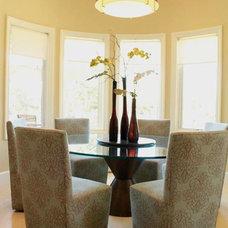Contemporary Dining Room by J. Hettinger Interiors