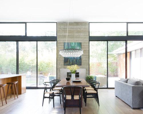 Contemporary dining room idea in San Francisco. 70  Best Contemporary Dining Room Ideas   Houzz