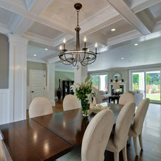 Traditional Dining Room by Eric Aust Architect