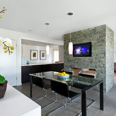 Contemporary Dining Room by Robert Frank Design