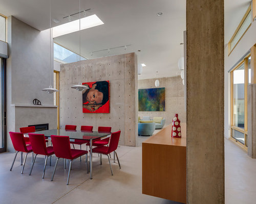 Houzz Modern Dining Room Design Ideas Remodel Pictures