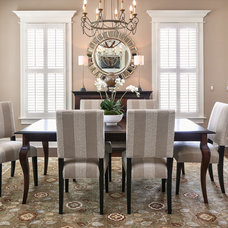 Traditional Dining Room by JH Designs