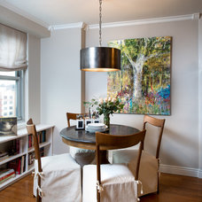 Transitional Dining Room by B R Nelson Designs LLC