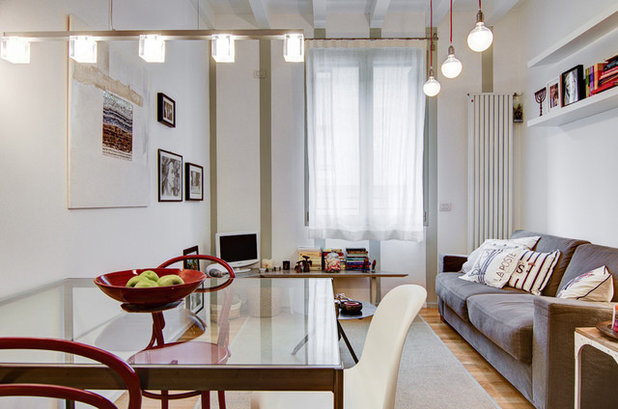 Contemporary Dining Room by NOMADE ARCHITETTURA INTERIOR DESIGN