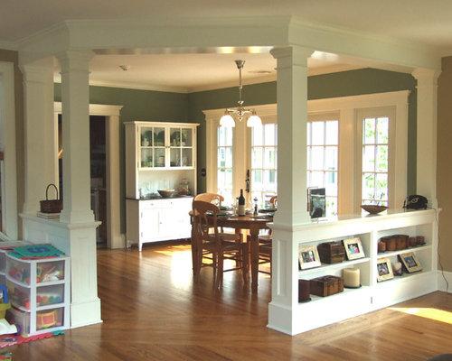 Interior Square Column Home Design Ideas Pictures