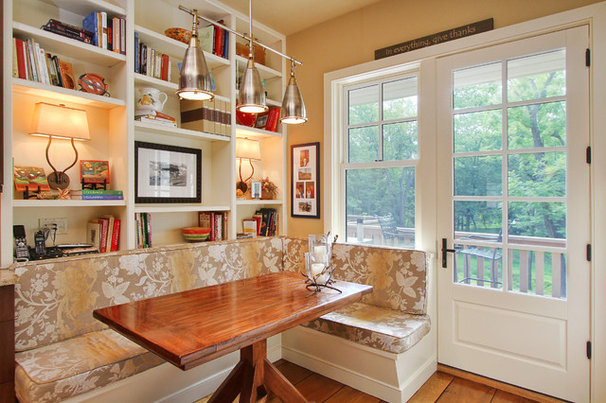 Traditional Dining Room by Spire Builders LLC