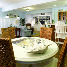 Beach Style Dining Room by Devine Designs