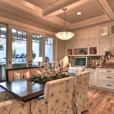 Traditional Dining Room by LuAnn Development, Inc.