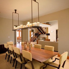 Contemporary Dining Room by Costantini Design