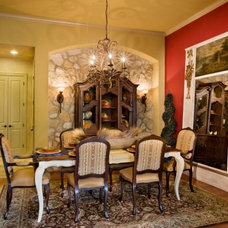 Traditional Dining Room by Sitterle Homes