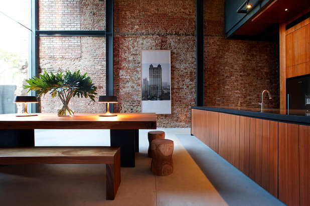 Dining Room by CHANG Architects