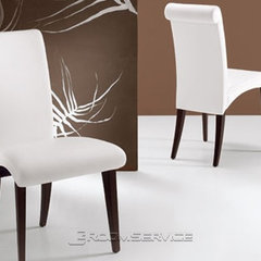 contemporary dining chairs and benches by RoomService 360