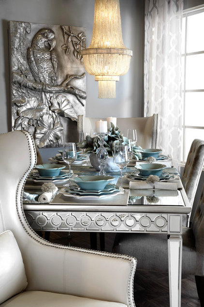 Styled by z gallerie for Dining room z gallerie