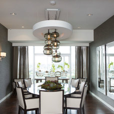 Contemporary Dining Room by SoCal Contractor