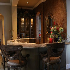 Mediterranean Dining Room by Luxury Home Solutions