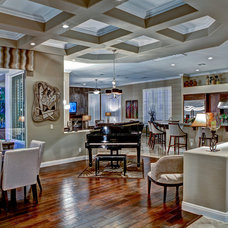 Contemporary Dining Room by Room Resolutions