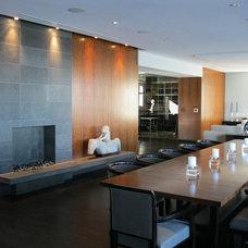 Modern Dining Room by madeleine boos, architecture + interiors LLC