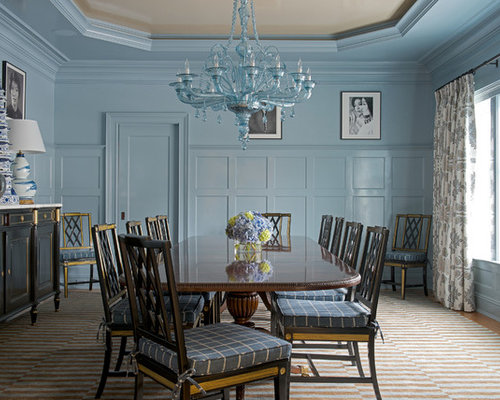 Large victorian dining room design ideas renovations photos for Victorian dining room ideas