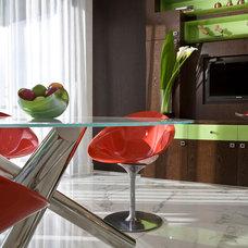 Contemporary Dining Room by Pfuner Design - Interior Design Miami
