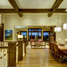 Traditional Dining Room by Rockwood Custom Homes
