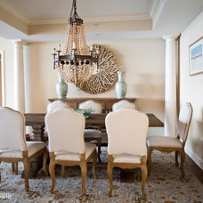 contemporary dining room by Furnitureland South