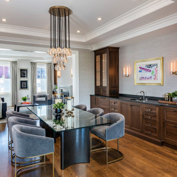Luxury Open-Concept Dining Room