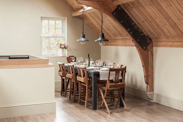 Country Dining Room by Simone Morciano