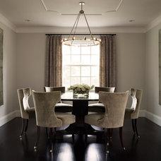 Contemporary Dining Room by David  Duncan Livingston