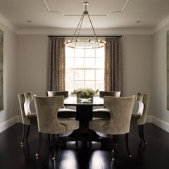 contemporary dining room by David  Duncan Livingston