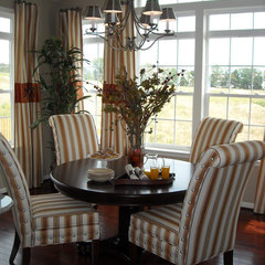 eclectic dining room by Nancy Auman