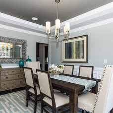 Transitional Dining Room by M/I Homes