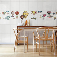 Eclectic Dining Room by Ceramica Bardelli