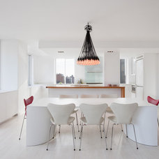 Modern Dining Room by David Bucovy Architect