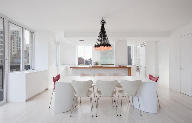 Modern Dining Room by David Bucovy Architect