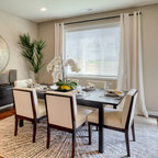 City Townhome Traditional Dining Room Chicago By