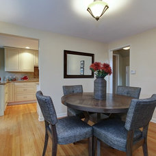 Contemporary Dining Room by Seattle Staged to Sell and Design LLC