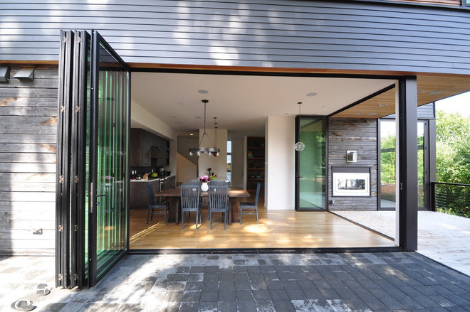 Contemporary Dining Room by Ryan Rhodes Designs, Inc.