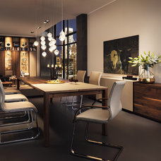 Modern Dining Room by Wharfside