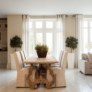 Photo of a classic dining room in Surrey.