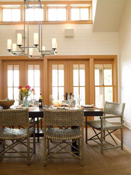 Traditional Dining Room by Bosworth Hoedemaker