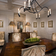 Traditional Dining Room by A. Tate Hilliard, Architect/Builder