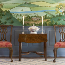 Eclectic Dining Room by Meadowbank Designs
