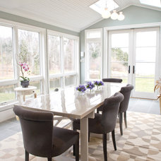 Beach Style Dining Room by Celia Bedilia