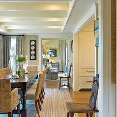 traditional dining room by Anthony Catalfano Interiors Inc.